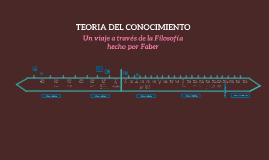 TEORÍA DEL CONOCIMIENTO POR FAVER ORDOÑEZ