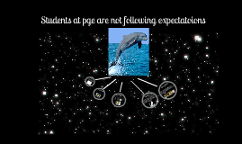 Students at pge are not folloing expectations