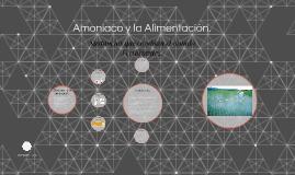 Amoniaco, como fertilizante.