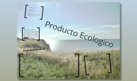 PRODUCTO ECOLOGICO