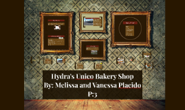 Hydra's Unico Bakery Shop