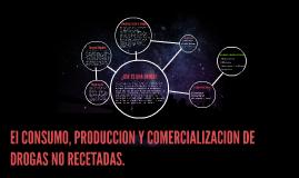 El CONSUMO, PRODUCCION Y COMERCIALIZACION DE DROGAS NO RECET