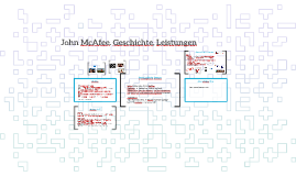 John McAfee. Geschichte, Leistungen