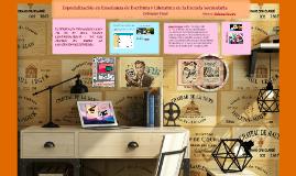 Especialización en Lengua y Literatura