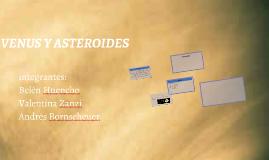 Venus y asteroides