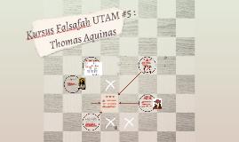 Kursus Falsafah UTAM #5 :