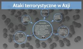 Ataki terrorystyczne w Azji