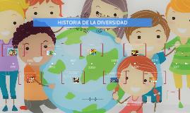 HISTORIA DE LA DIVERSIDAD