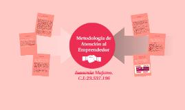 Metodología de Atención del emprendedor