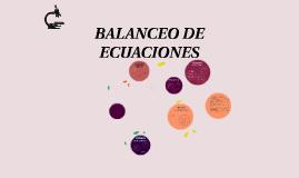 Copy of BALANCEO DE ECUANCIONES