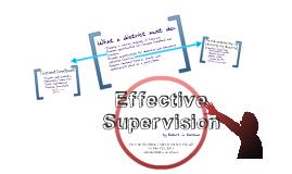 Effective Supervision-Marzano
