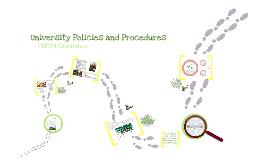 USFSM Policy & Procedures v3.0