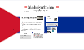 Cuban Immigrant Experience