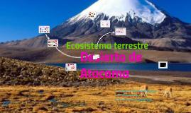 Copy of ecosistema del desierto de atacama