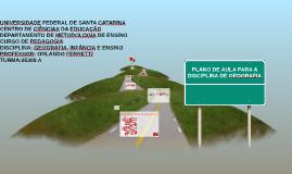 Copy of PLANO DE AULA PARA A DISCIPLINA DE GEOGRAFIA