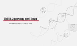 Die DNA-Sequenzierung nach F.Sanger