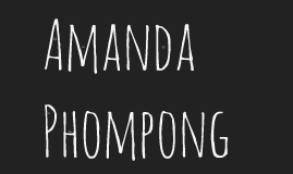 Amanda Phompong