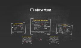 RTI Interventions