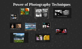Incredible Photography Techniques