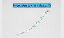 Uso pedagógico del Material educativo PTA