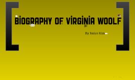 Biography of Virginia Woolf