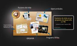 Factores de éxito en proyectos de desarrollo TIC