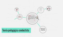 Teoría pedagógica conductista