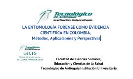 La Entomología forense como evidencia científica en Colombia