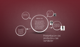 Presentacion del producto y del vendedor