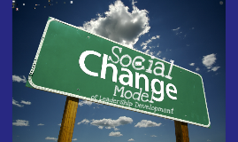 MU class The Social Change Model