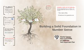 Building a Solid Foundation in Number Sense
