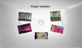 Copy of Origami Instalation