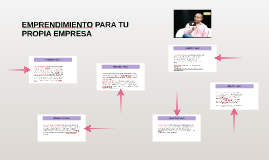 Copy of EMPRENDIMIENTO PARA LA EMPRESA
