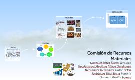 Comisión de Recursos Materiales