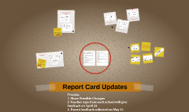 Report Card Updates