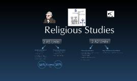 Taster Day: AQA GCE Religious Studies