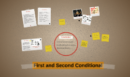 Copy of First and Second Conditional