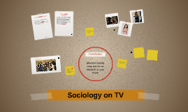 Sociology on TV