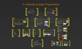 Copy of 3 methods to teach imperatives