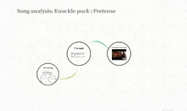 Song analysis: Knuckle puck Pretense