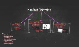 Manfaat Elektrolisis