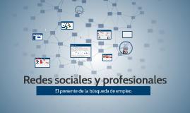 Copy of Redes sociales y profesionales para la búsqueda de empleo
