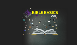 Copy of BIBLE BASICS