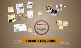 Forensic Linguistics