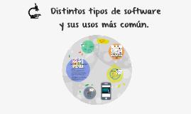 Copy of  Distintos tipos de software y sus usos más común.
