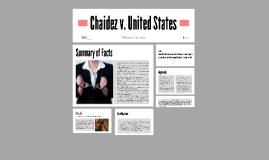 Chaidez v. United States
