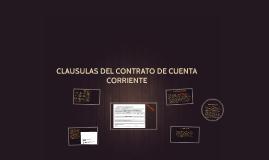 Copy of CLAUSULAS DEL CONTRATO DE CUENTA CORRIENTE
