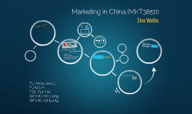 MKT 3850 Marketing in China [Weibo]