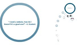 Copy of Evaluating Websites - CRAAP Method