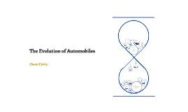 The Evolution of Automobiles